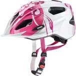 uvex Fahrradhelm Quatro Jr. pink-silver 50-55