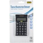 Idena Taschenrechner TR800 schwarz 8-stellig