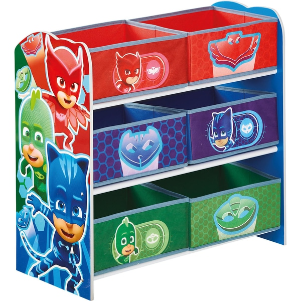 Worlds Apart 6-Boxen Regal PJ Masks