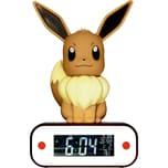 """Pokémon Digitaler Wecker """"Evolie""""als LED-Lampe"""