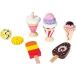 myToys Kaufladen Eiscremeset 12tlg. Spiellebensmittel