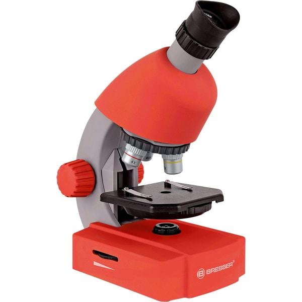Bresser 40x-640x Mikroskop Rot