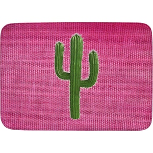 Achoka Kinderteppich Ultrasoft Kaktus Pink 70 X 95 Cm
