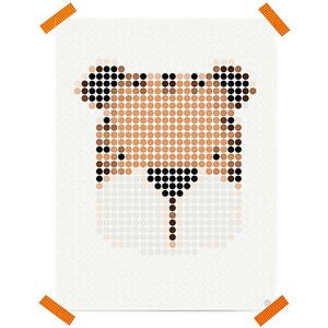 Dot On Art Cute Tigger 30 X 40 cm