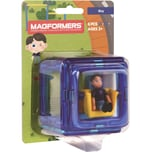 MAGFORMERS Magformers Figure Plus Boy Set