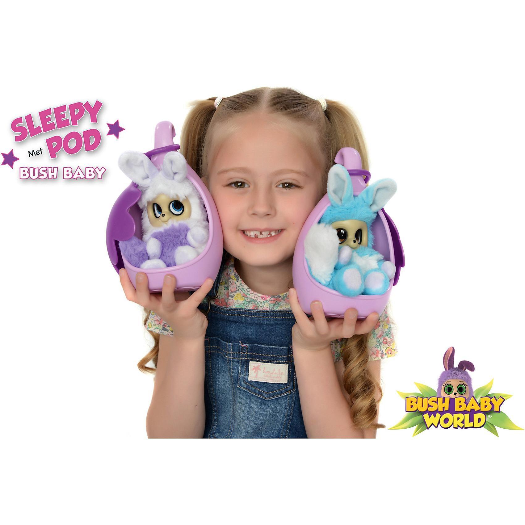 Spectron Toys Bush Baby World Sleepy Pod Adero