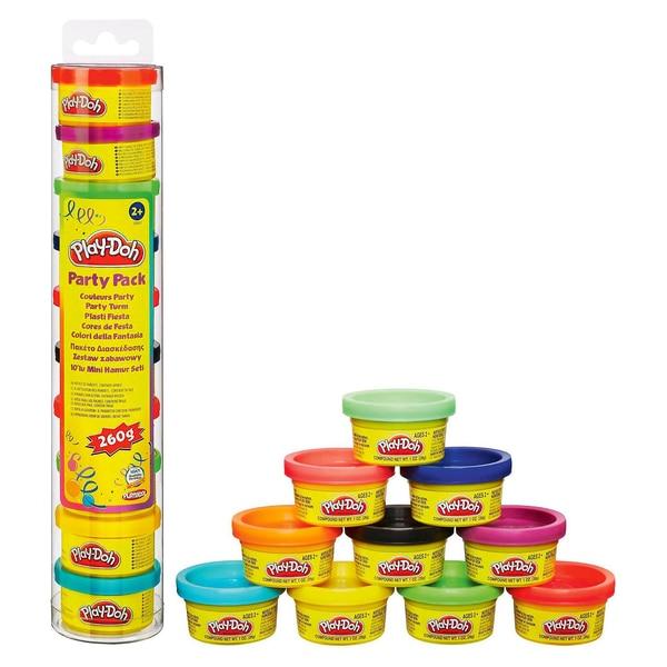 Hasbro Play-Doh Knet-Dosen 10er-Pack - Party Turm