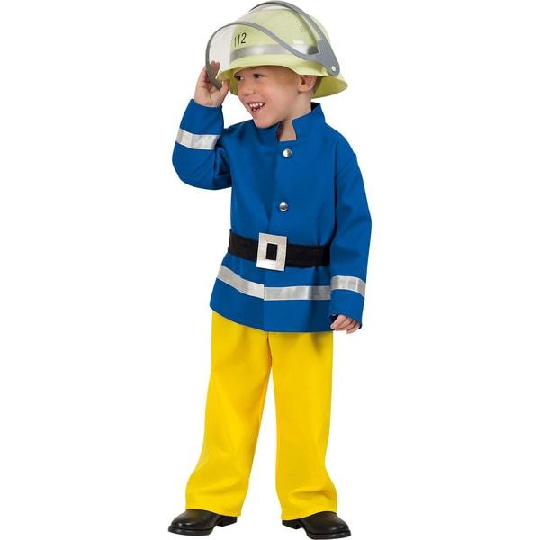 Kunterbunt Kostüm Feuerwehrmann