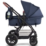 Kinderkraft Kombi Kinderwagen Moov 3in1 dunkelblau