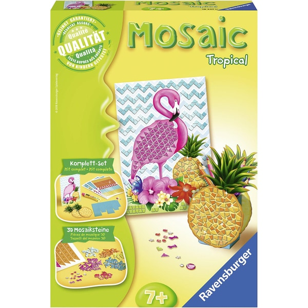 Ravensburger 2-tlg. Mosaic Set Midi Tropical