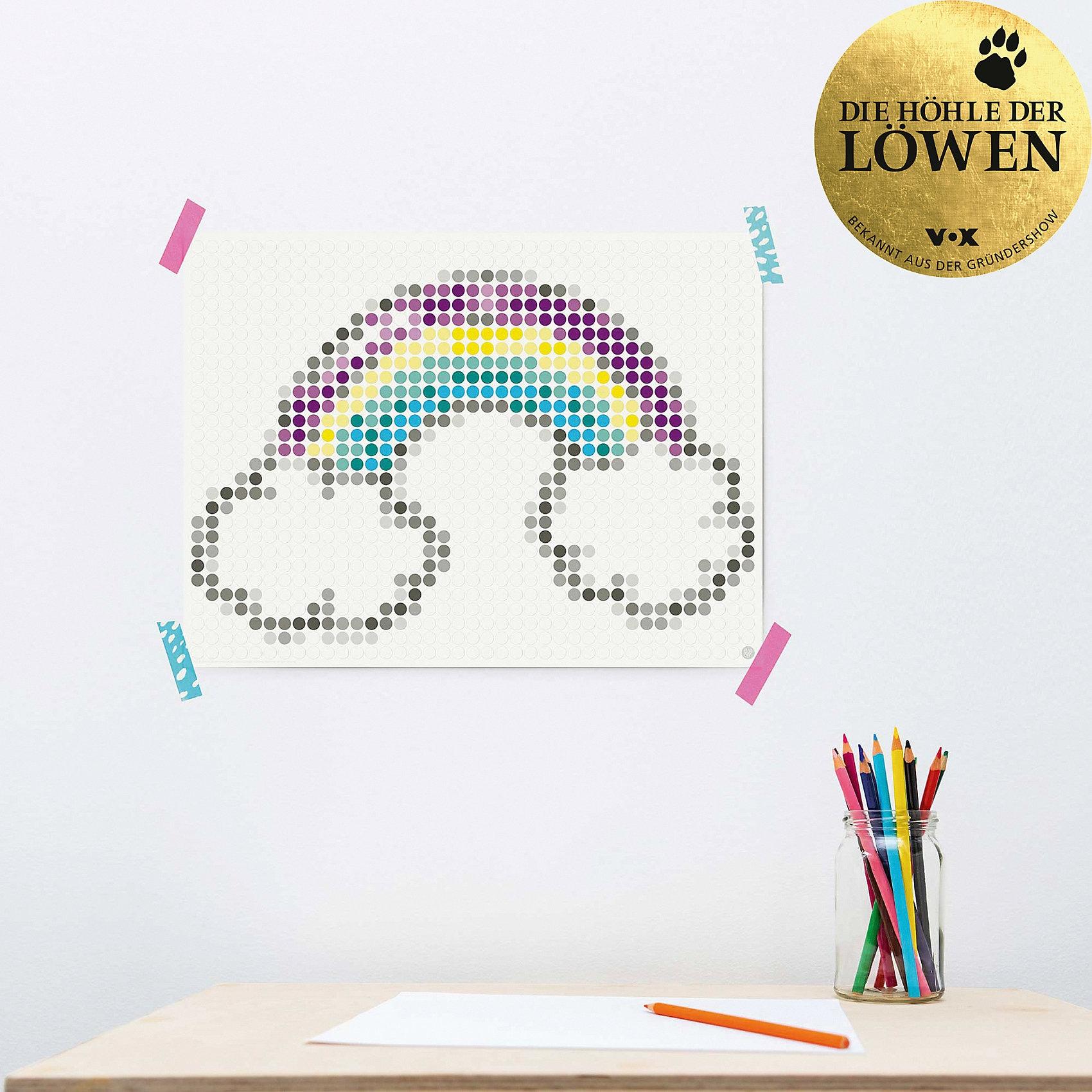 dot on dot on art teen - rainbow 30 x 40 cm