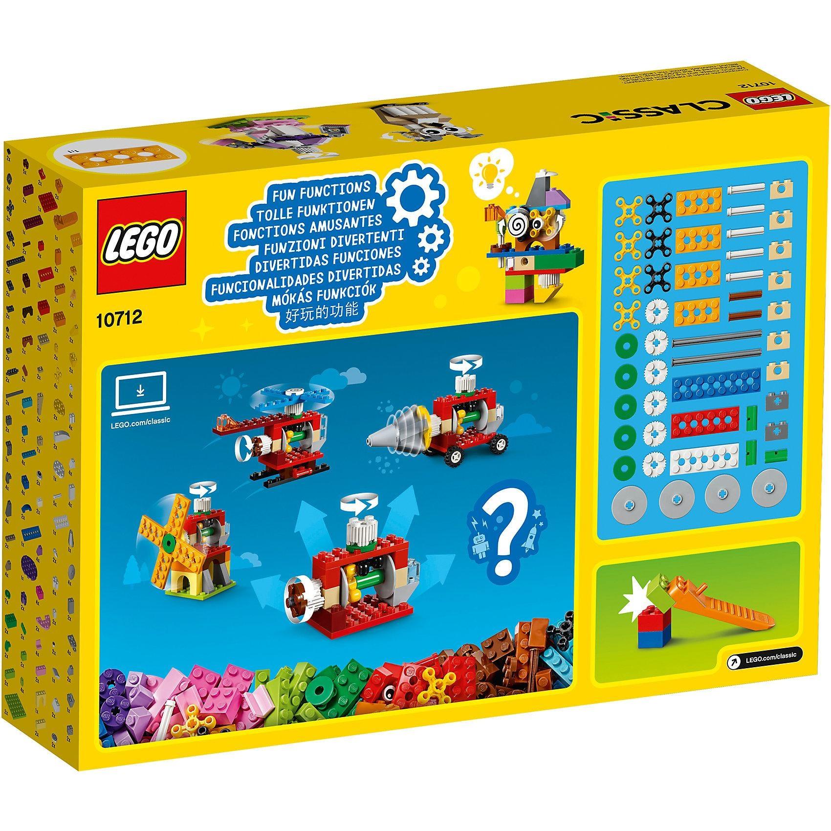 Lego Classics 10712 Zahnräder Bausteine Set