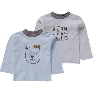 Boley Baby Langarmshirts Doppelpack für Jungen