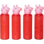 Happy People Peppa Pig Foam Shooter Wasserspritzen 4er Set