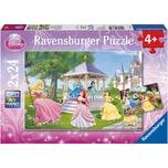 Ravensburger 2er Set Puzzle je 24 Teile 26x18 cm Disney Princess Zauberhafte Prinzessinnen