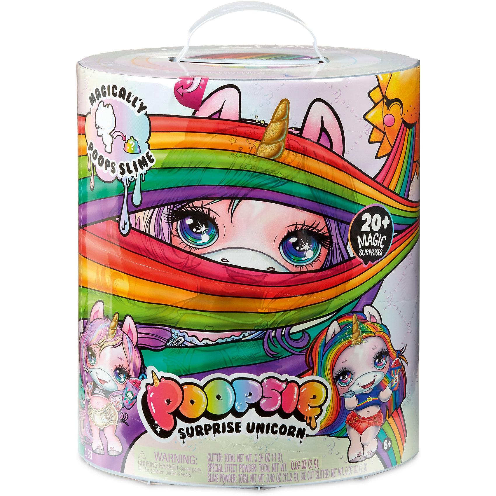 MGA Poopsie Surprise Einhorn Pink oder Regenbogen