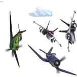 Komar Fenstersticker Disney Planes 9-Tlg.