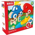Brio 6-Tlg. Holz Camping-Auto Set My Home Town