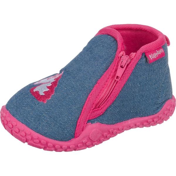 Playshoes Baby Hausschuhe Einhorn