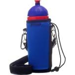 Isybe Thermohülle Blau Für Flaschen 05 07 L
