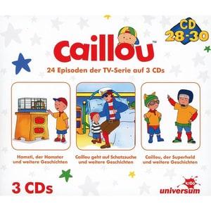 CD Caillou Hörspielbox 10 CD 28-30 3 CDs