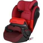 Cybex Auto-Kindersitz Pallas M-Fix SL Silver-Line Rumba Red-Dark Red