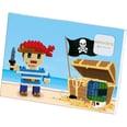 Glückwunschkarte BRIXIES Pirat