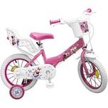 Toimsa Bikes Minnie Mouse Kinderfahrrad 14 Zoll