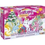 CRAZE Adventskalender Galupy Unicorn 41 x 325 x 62cm