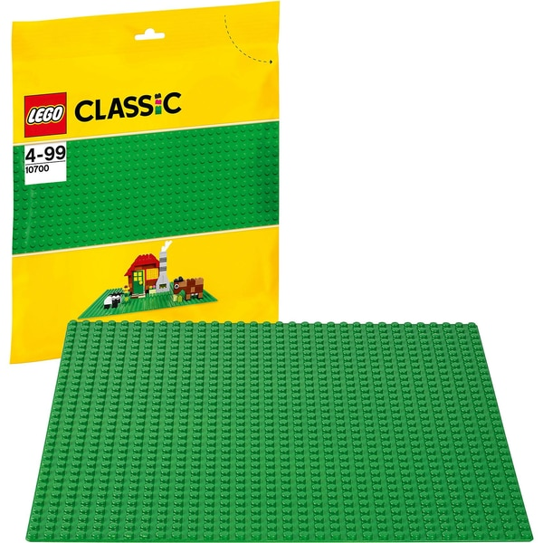 Lego Classics 10700 Grundplatte grün