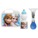 Stamp Die Eiskönigin Lunchbox Flasche und Hupe für Roller