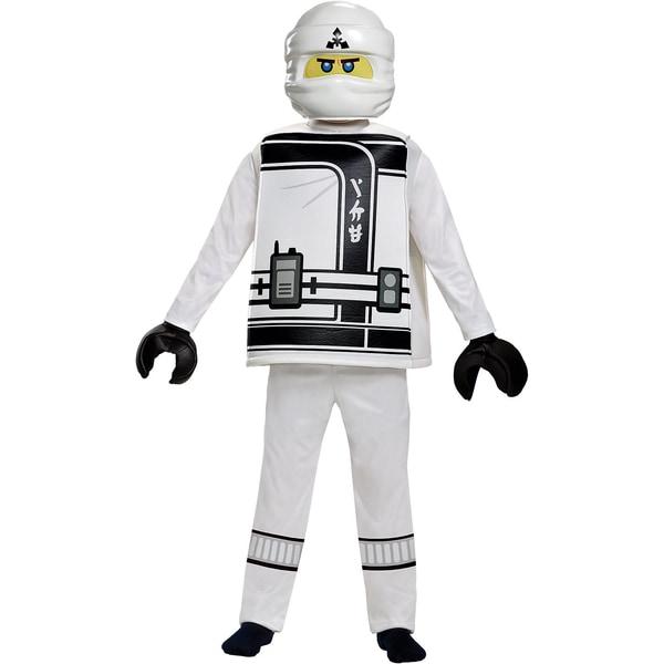 LEGO Ninjago Movie Zane Deluxe Kostüm 5-teilig