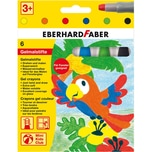 Eberhard Faber Mini Kids Gelmalstifte/Fenstermaler 6 Basis-Farben