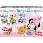 Educa 5er-Set Puzzle 3-5 Teile Disney Baby Minnie