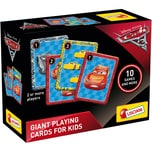 Lisciani Große Spielkarten Cars 3