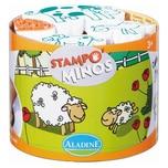 Aladine STAMPO'MINOS Midi-Stempelset Bauernhof 11-tlg.