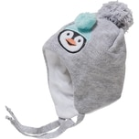 YO! Erstlingsmütze für Mädchen Pinguin