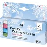 C. KREUL KREUL Chalky Kreidemarker 4er Set Fensterdeko