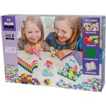 PLUS-PLUS Learn to Build Pastel 600 Teile