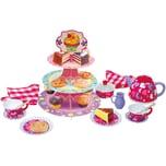 Playgo Hohes Tee- Kuchen- Set - 28-teilig