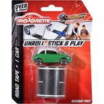 Majorette Playtape Blistercard Car 3-sort.