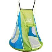Hudora Zelt für Nestschaukel grün 110cm