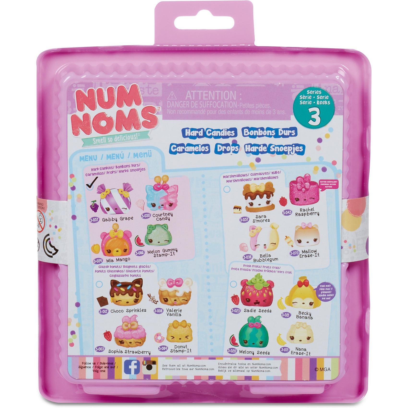 MGA Num Noms Starter Pack Series 3Hard Candies