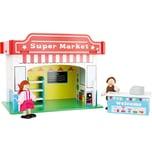 Small Foot Small Foot Spielhaus Supermarkt mit Zubehör