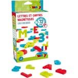 Smoby 72 magnetische Buchstaben und Zahlen