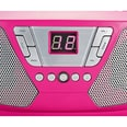 bigben CD-Player mit Radio CD60 - Kids pink