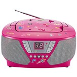 bigben CD-Player mit Radio CD60 - Kids pink
