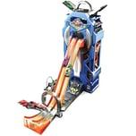 Mattel Hot Wheels Power Parkgarage für 35 Spielzeugautos inkl. Spielauto Autorennbahn