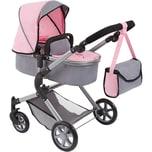 Bayer Puppenwagen City Neo grau/rosa