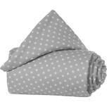 Tobi Gitterschutz Organic Cotton Für Verschlussgitter Alle Babybay Modelle Lichtgrau Sterne Weiß